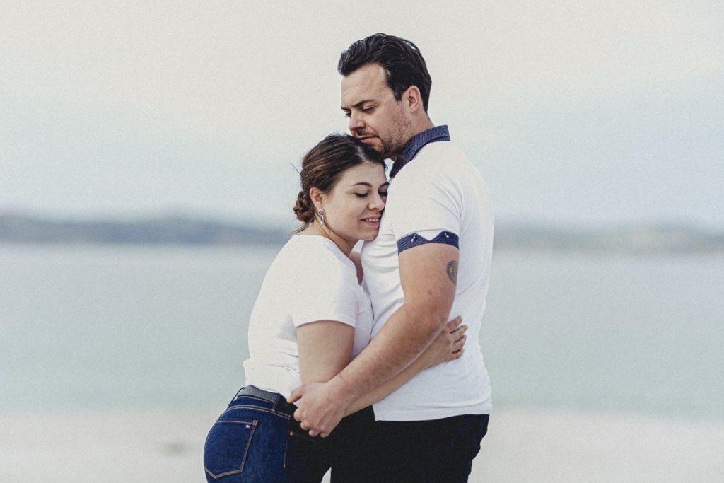 La preboda en la playa de Laxe de Jenni & Santi 46