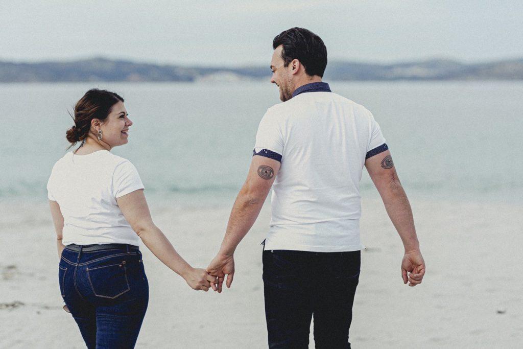 La preboda en la playa de Laxe de Jenni & Santi 51