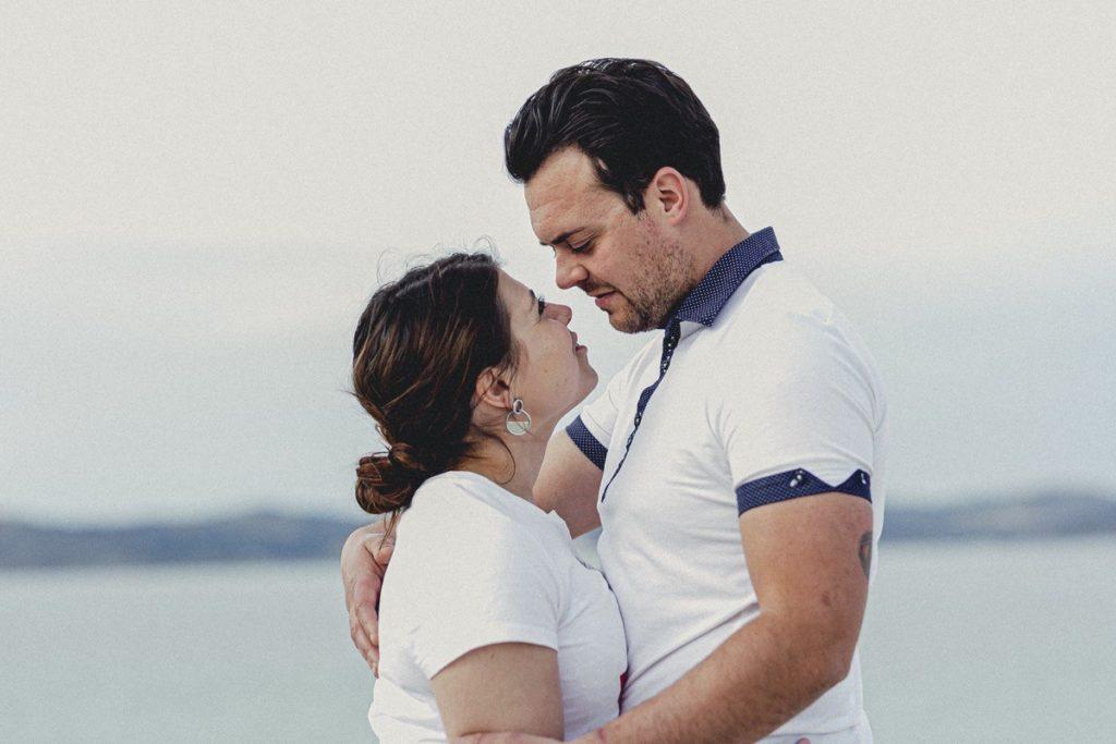 La preboda en la playa de Laxe de Jenni & Santi 53