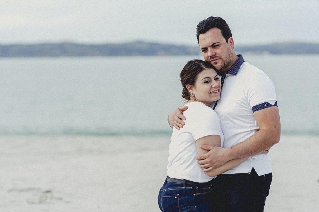La preboda en la playa de Laxe de Jenni & Santi 55