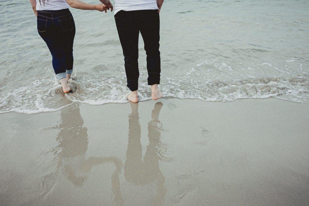 La preboda en la playa de Laxe de Jenni & Santi 70