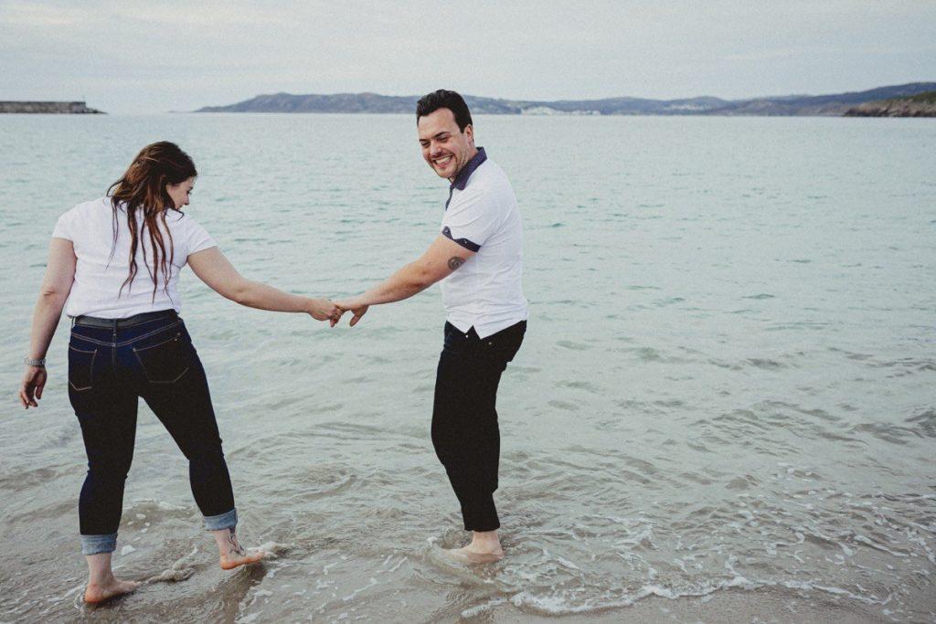 La preboda en la playa de Laxe de Jenni & Santi 71