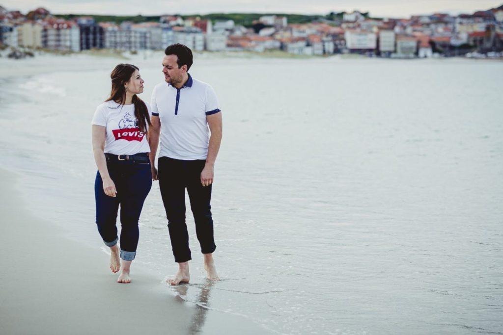 La preboda en la playa de Laxe de Jenni & Santi 75