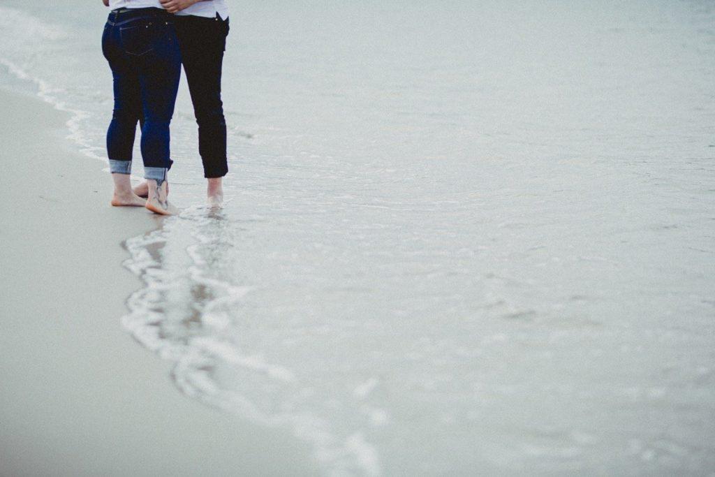 La preboda en la playa de Laxe de Jenni & Santi 77
