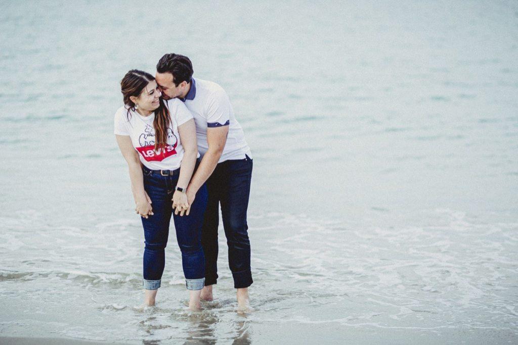 La preboda en la playa de Laxe de Jenni & Santi 79