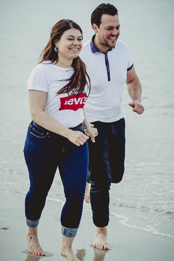 La preboda en la playa de Laxe de Jenni & Santi 82