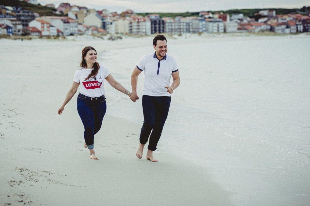 La preboda en la playa de Laxe de Jenni & Santi 83