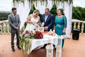 La boda en Doña Rita de Rebeca y José Manuel