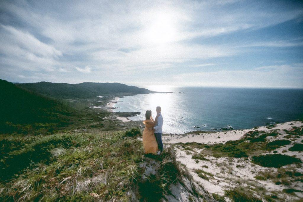 La preboda en Monte Branco de Mar y Marcos 6