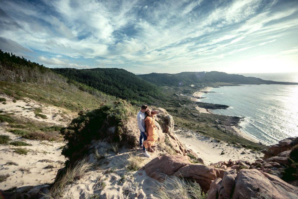 La preboda en Monte Branco de Mar y Marcos