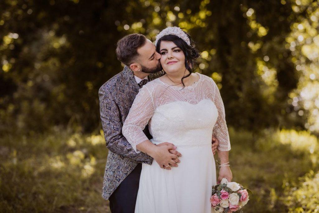 La boda en O Pindo de Tamara y Enrique