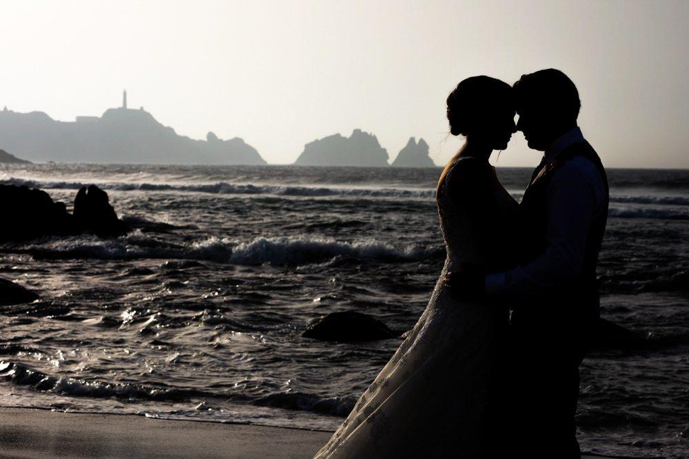 La postboda en la Costa da Morte de Inés y Luis