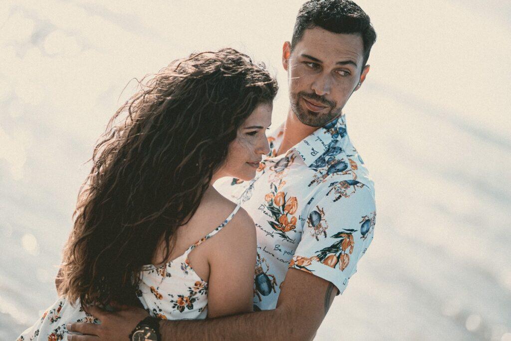 Las bonitas fotos de la preboda en Traba de Laxe de Seila y Fabio por Diego Alonso Fotógrafo de bodas en la Costa da Morte