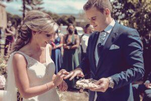 La boda en Doña Rita de Raquel y Andro