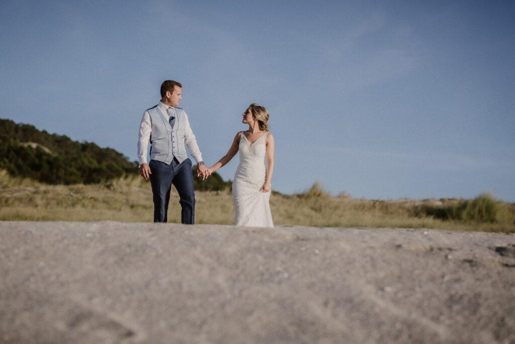 La postboda en la Playa de Soesto de Raquel & Andro 18