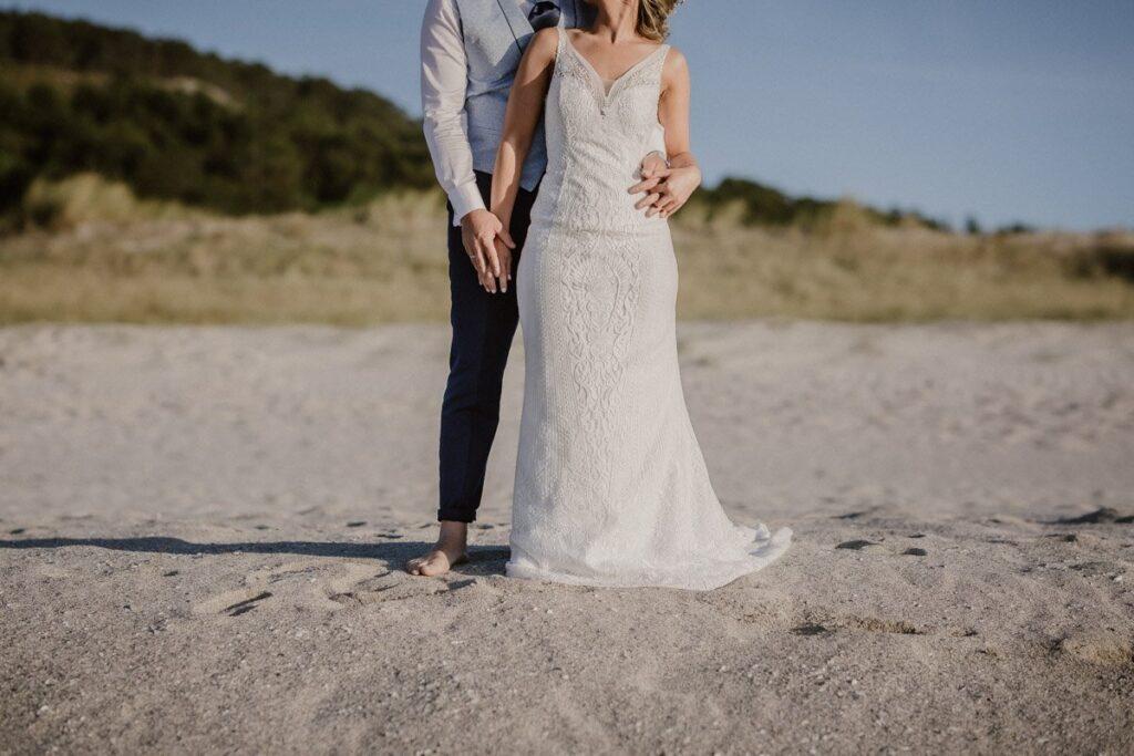 La postboda en la Playa de Soesto de Raquel & Andro 19
