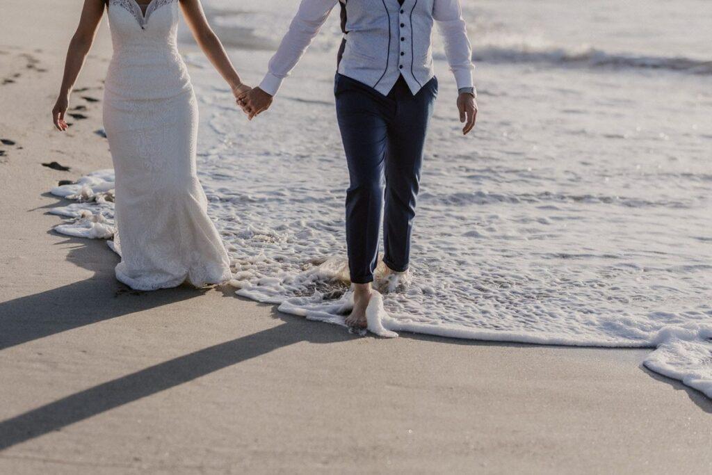La postboda en la Playa de Soesto de Raquel & Andro 22