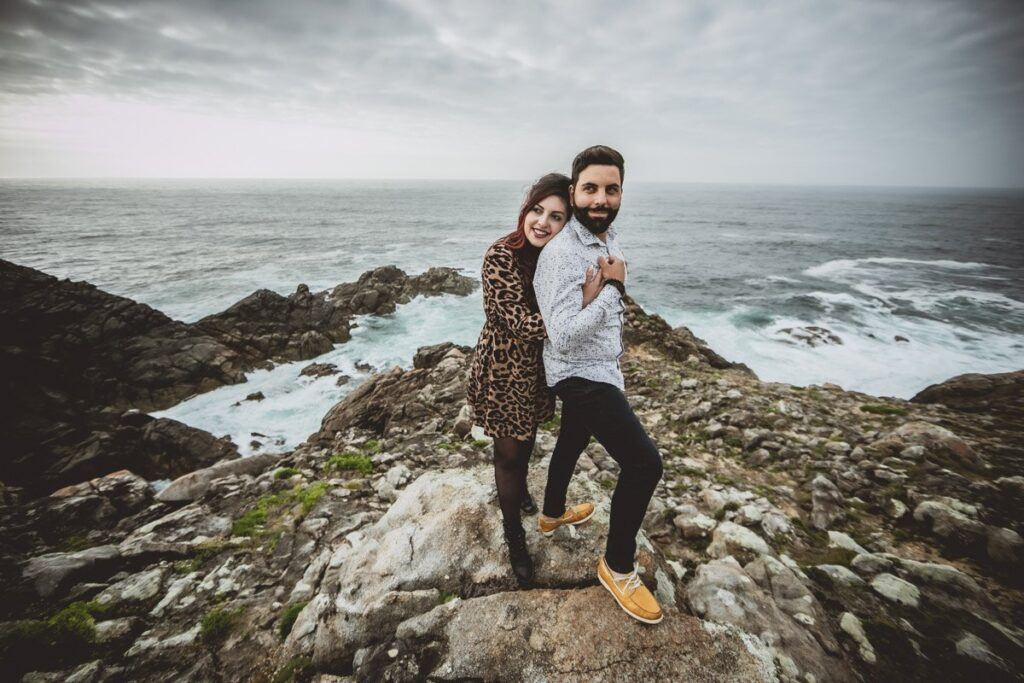 La preboda en Touriñán de Tania y Marcos