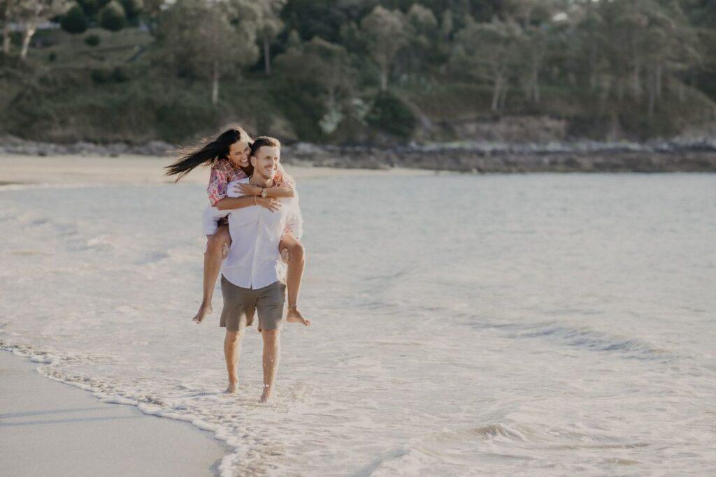 La preboda en la Playa de Lago de Paula y Alberto 14