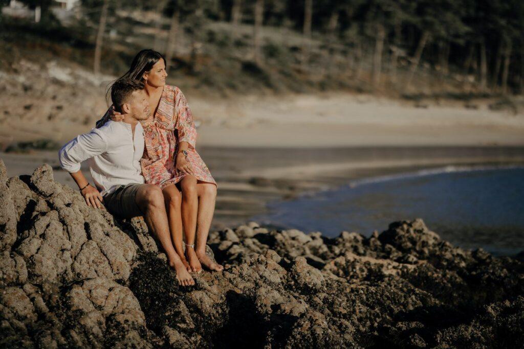 La preboda en la Playa de Lago de Paula y Alberto 28