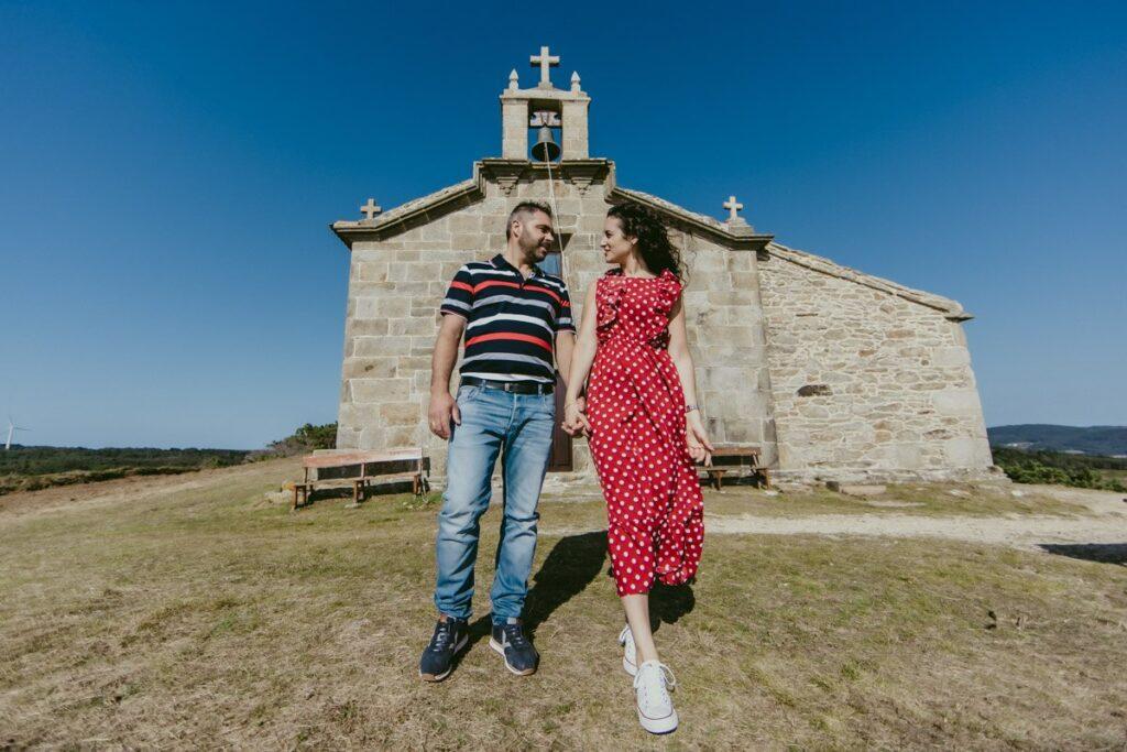 Preboda en la Virxe do Monte de Tamara & Ito 10