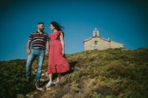 Preboda en la Virxe do Monte de Tamara & Ito